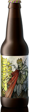 Zombie Dust, a pale ale brewed by Munster, Indiana's Three Floyds Brewing