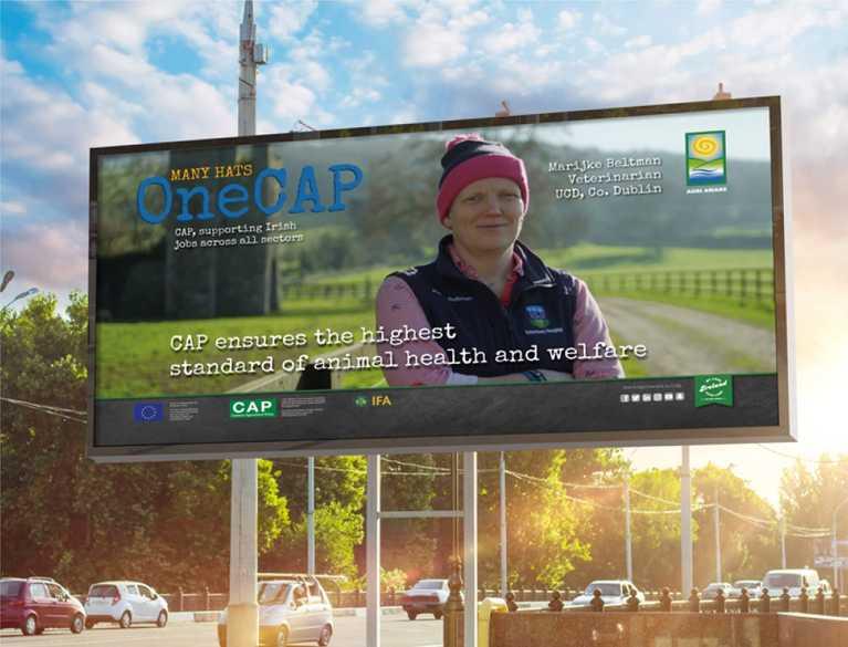 agri aware advertisement on billboard