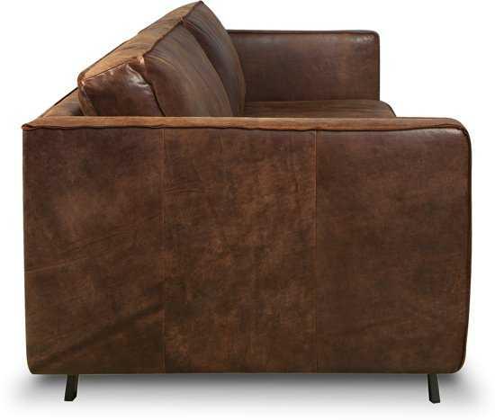 Isofa Bjorn 3 Zitsbank Leer Cognac 9200000057897623_2 45 cm