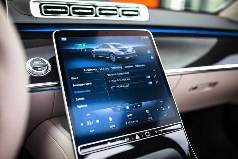 "Mercedes-Benz S-Klasse 500 4Matic Lang AMG *Pano / 3D Burmester / HUD / Distronic / 21"" / 3D Display* afbeelding 16"