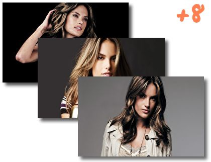 Alessandra Ambrosio theme pack