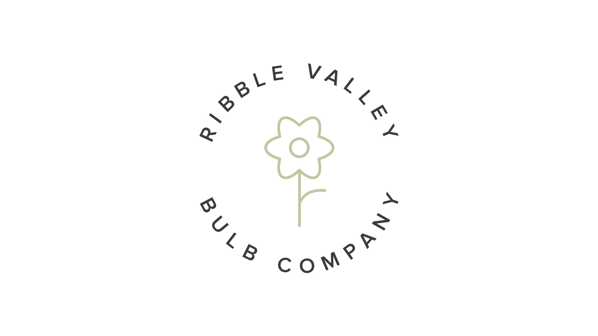 Logo design, and branding and identity design for Ribble Valley Bulb Company
