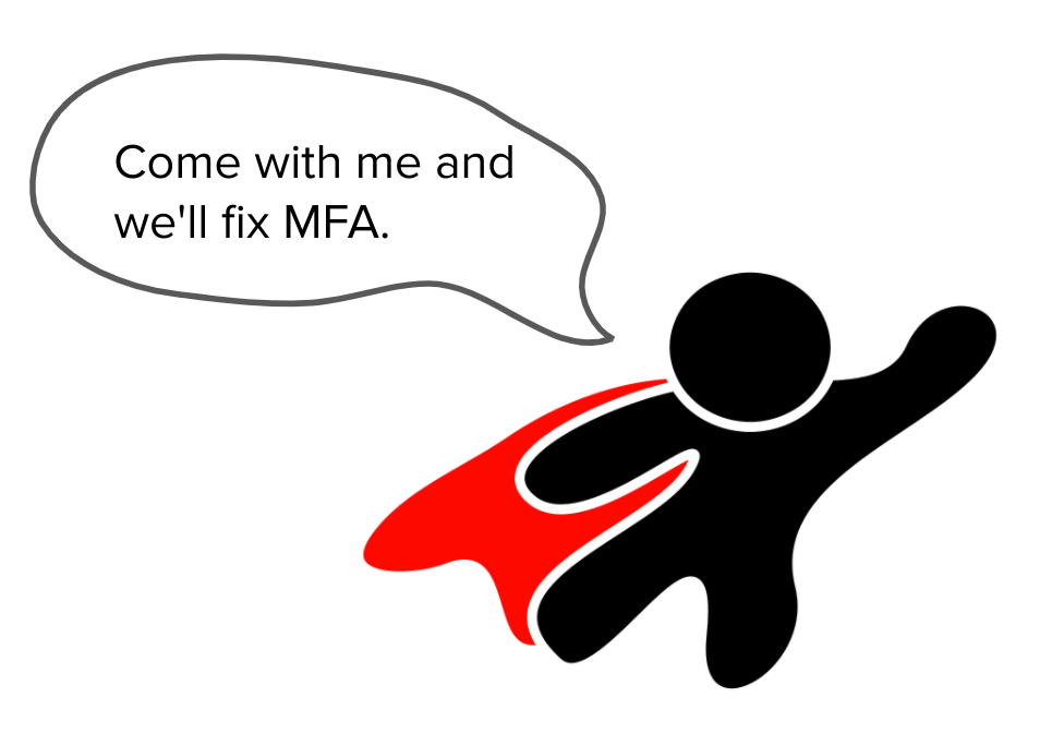 fix multi-factor authentication superhero