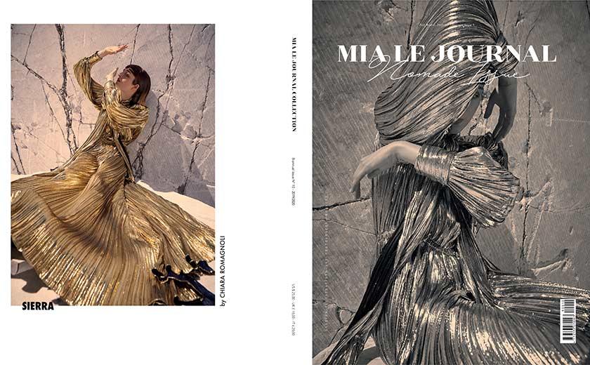 Elisabetta Cavatorta Stylist - Stairway to the moon - Cover - Chiara Romagnoli - Mia Le Journal