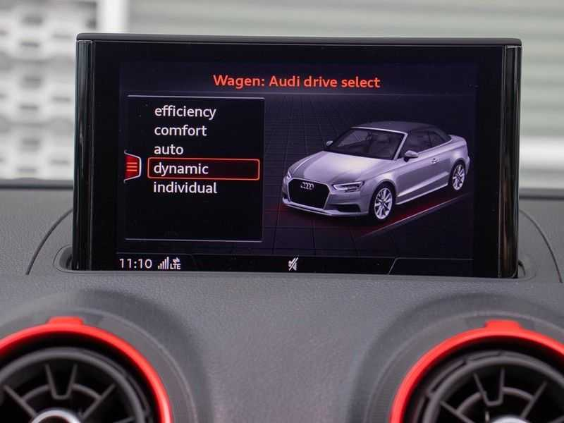 Audi A3 cabriolet 2.0 TFSI S3 quattro | B&O Sound | Adapt.Cruise | Dynamic RED | Stoelverwarming | LED | Climate-control | afbeelding 22