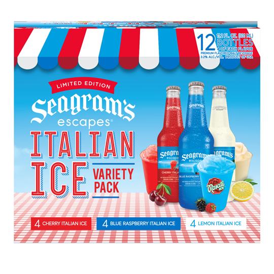 Italian Ice Variety 12 Pack