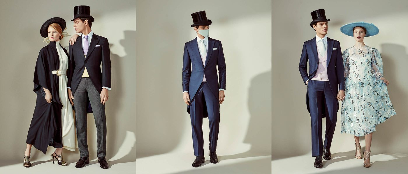 Royal Ascot x Oliver Brown Collaboration