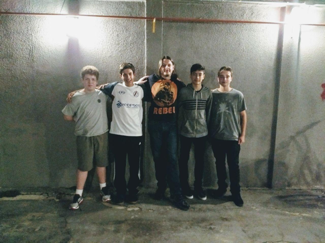 Os campeões da Cooldown Siege Cup #1