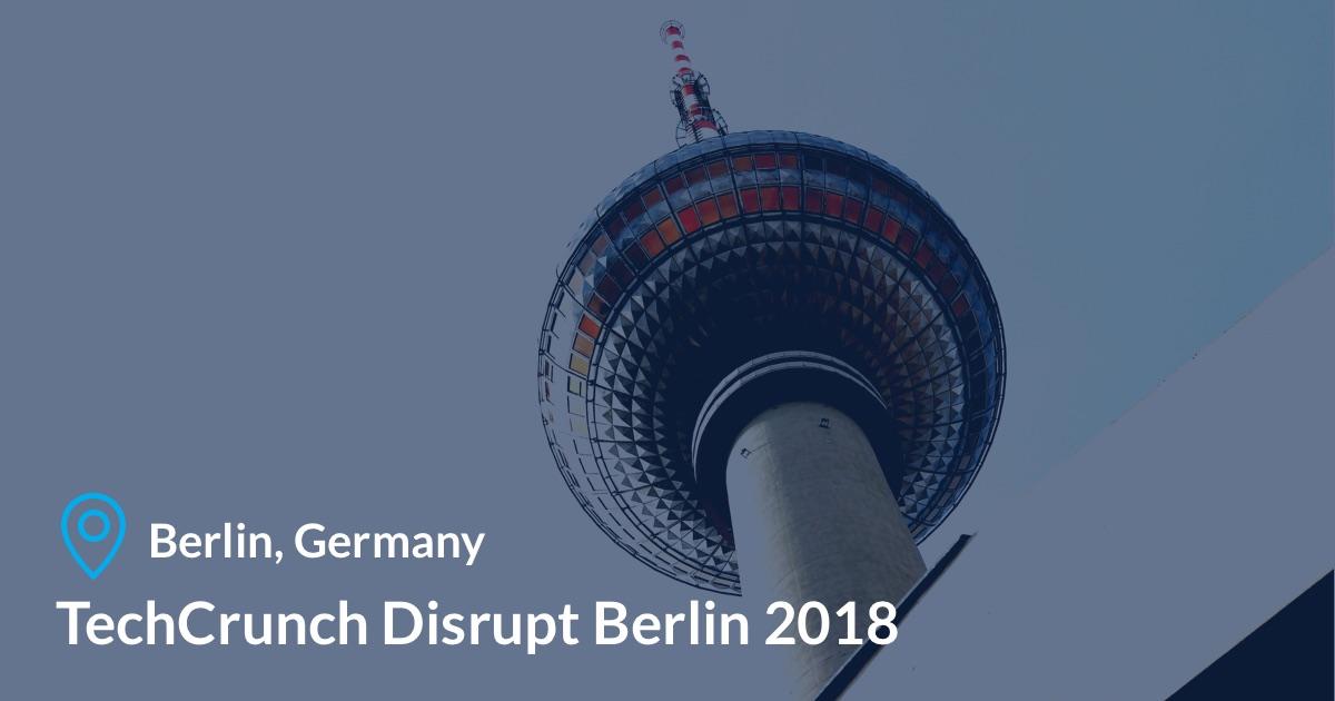 Tech Crunch in Berlin, Germany
