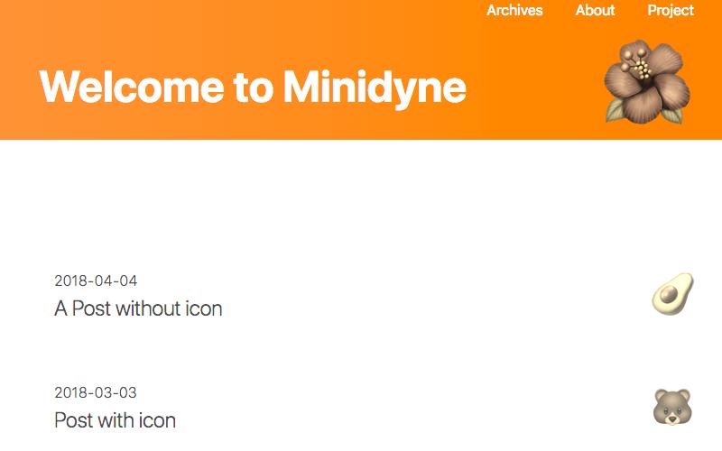 Minidyne