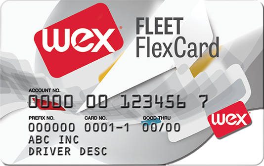 Wex flexcard card