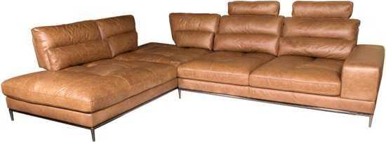 Homingxl Loungebank Titan Chaise Longue Linksleer Cognac 9200000081222450_1 Stevig