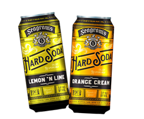 Seagram's Hard Soda 1 Pint 7.5 oz. cans