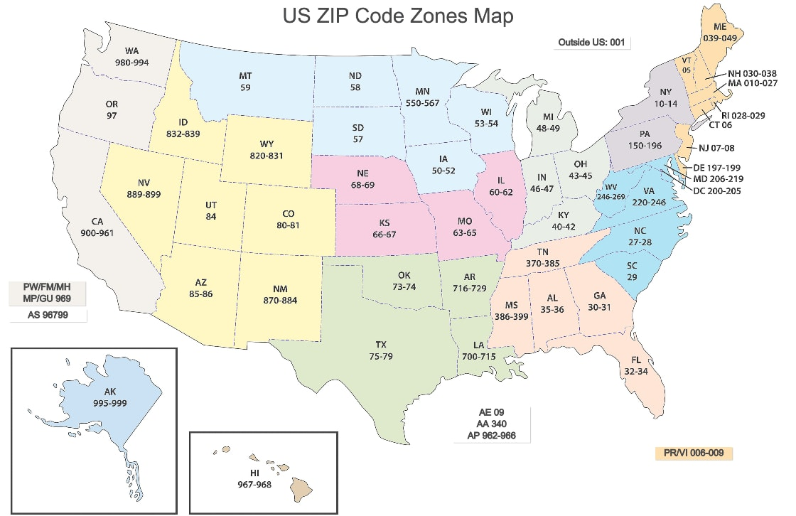 Picture of: Zip Codes 101 What Is A Zip Code How To Find It