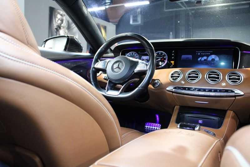 Mercedes-Benz S-Klasse Coupé 63 AMG 4Matic Zeer compleet/Carbon afbeelding 9