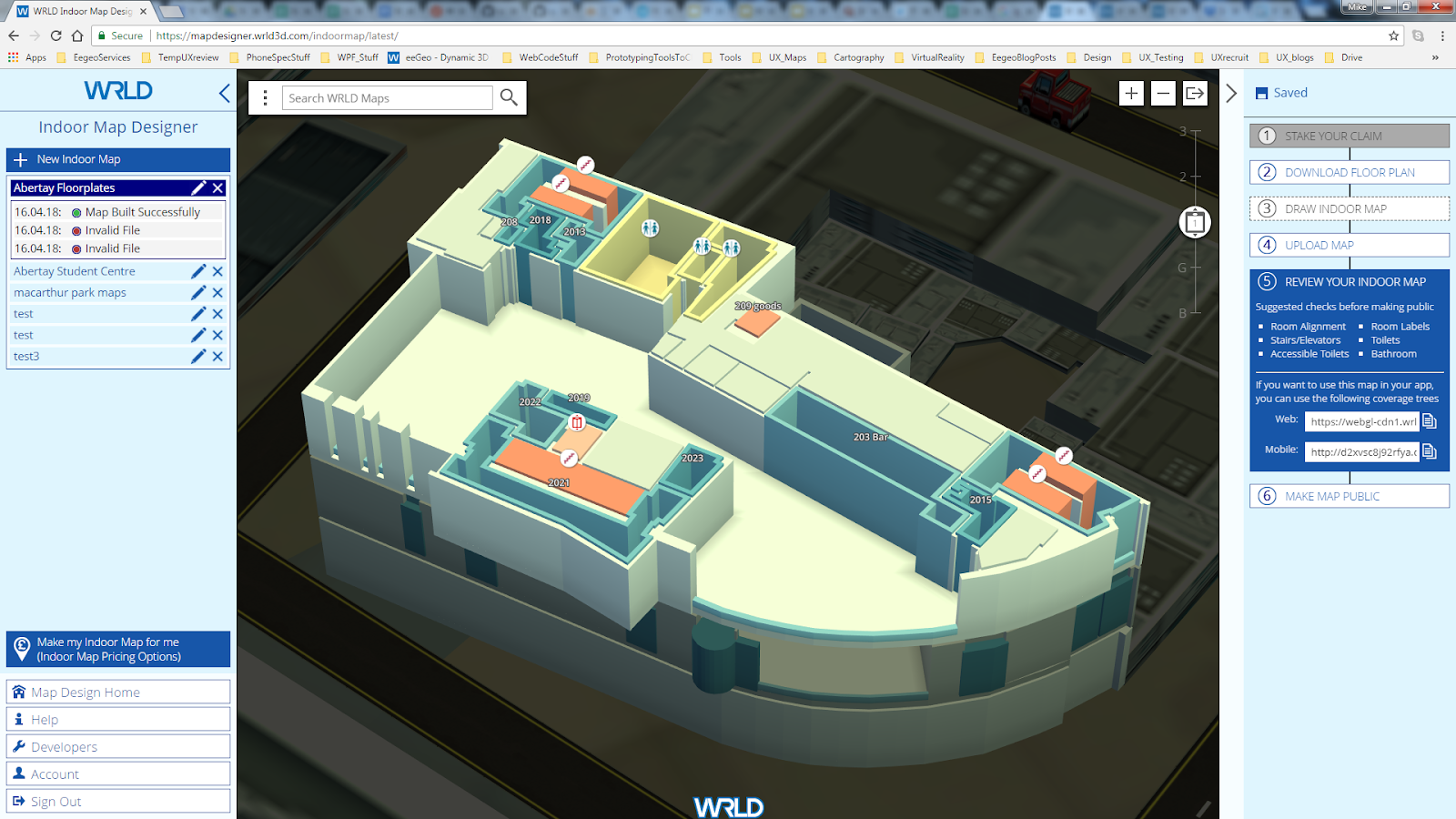 How to use WRLD Indoor Maps Upload and Design Tools: Video Tutorials