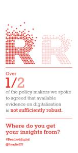 Evidence on digitalisation is not robost