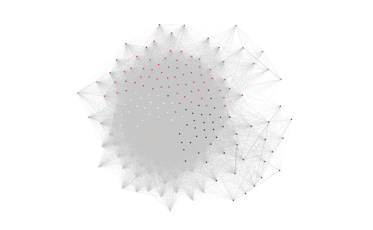 Gephi Cluster After