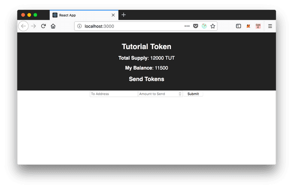 Tutorial Token Wallet