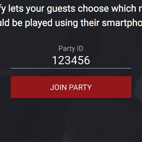 Join Party Screenshot