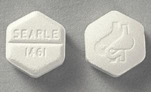 image of hexagonal cytotec pill