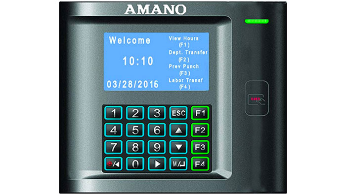 Amano MTX-30P terminal