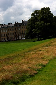 View from Royal Crescent, Bath