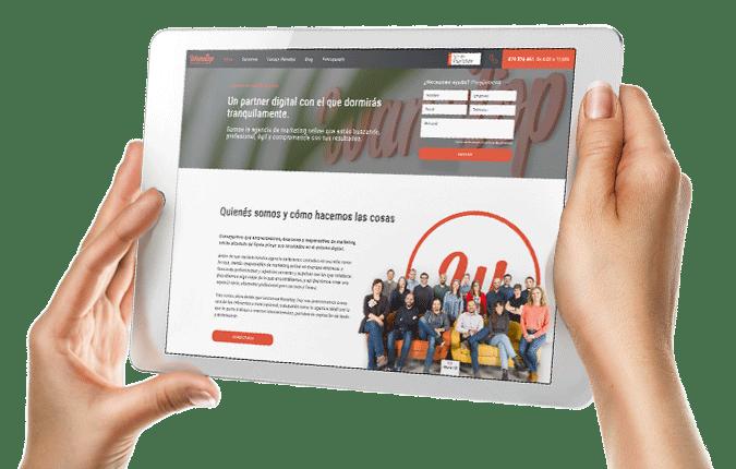 Una web ágil y atractiva que atrape al usuario