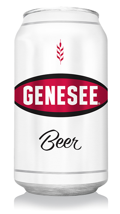 Genesee Beer can