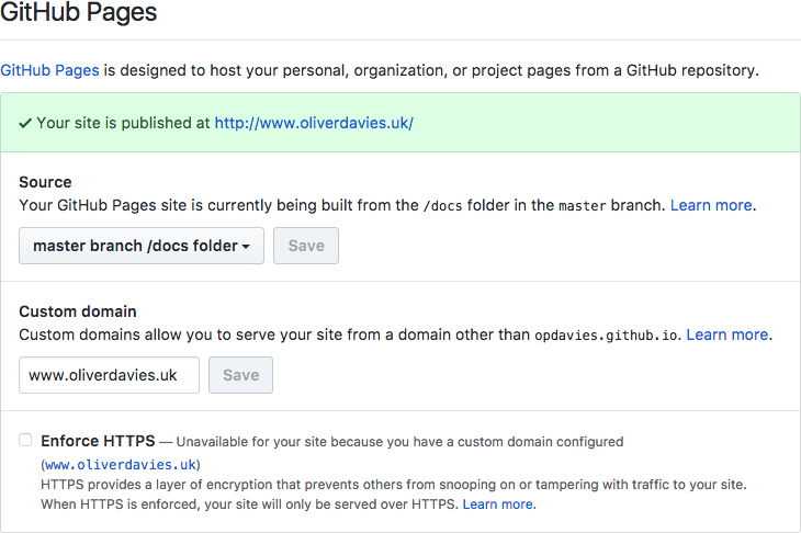 Publishing Sculpin Sites with GitHub Pages | Oliver Davies