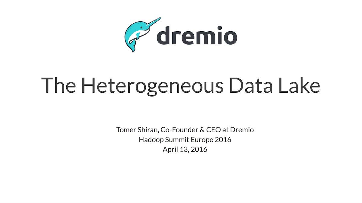 The Heterogeneous Data Lake Analytics in the World of Specialized Datastores