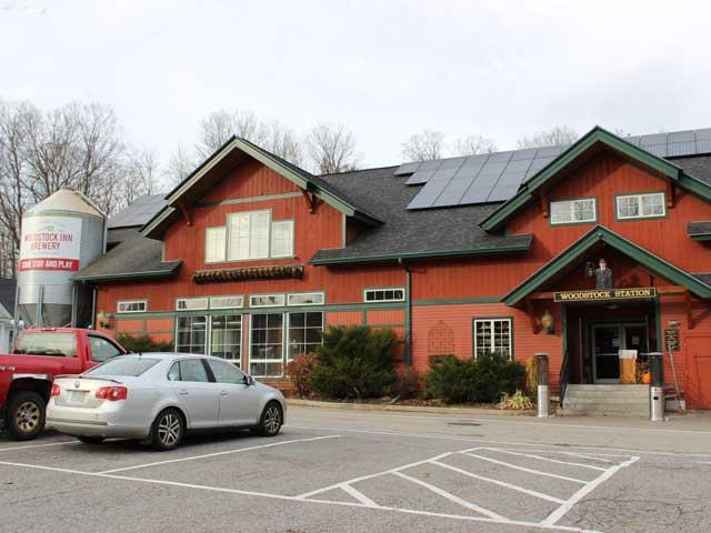 Woodstock Inn Brewery in North Woodstock, NH