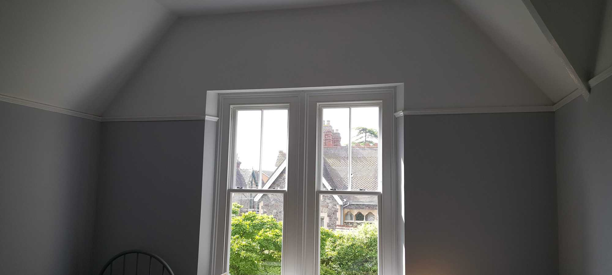 Newly refurbished and renovated bedroom, which has been completely redecorated