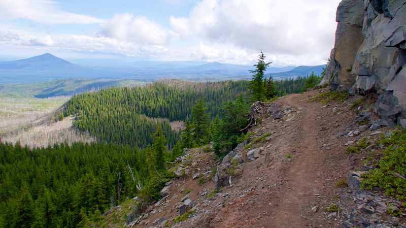 A view of Black Butte