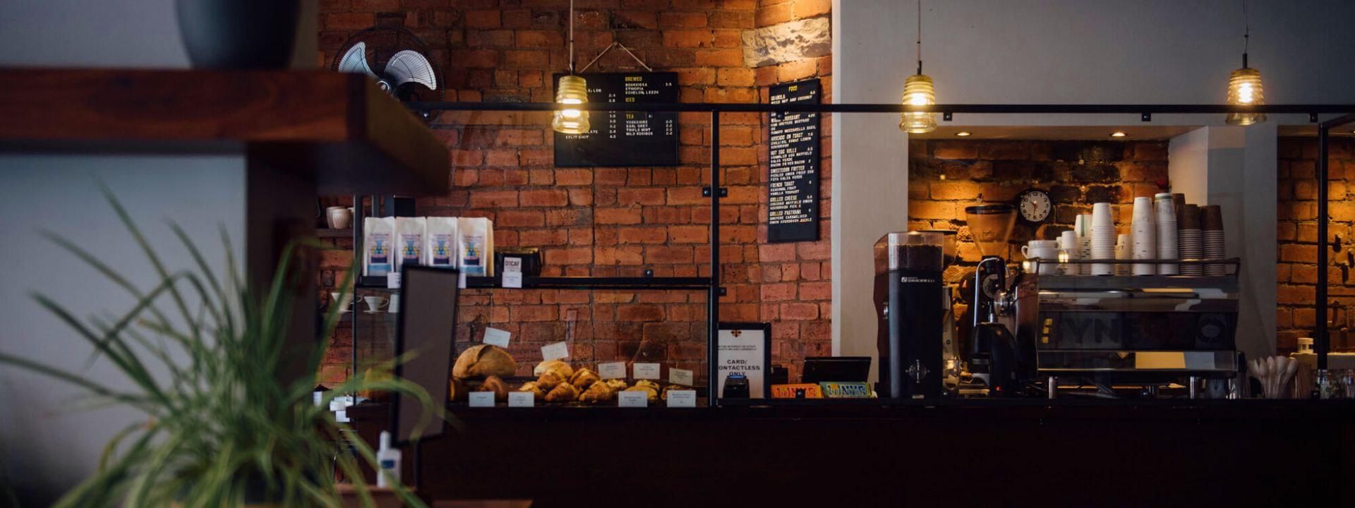 Laynes Espresso inside cafe