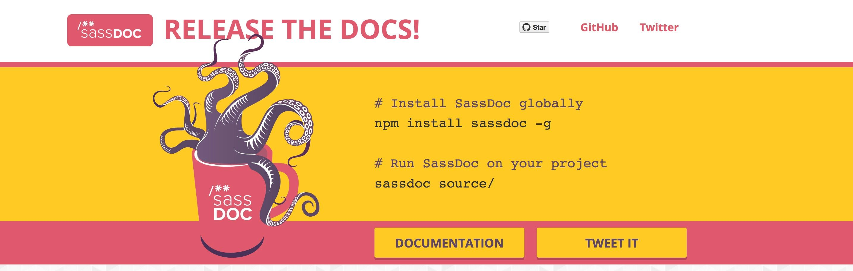 SassDoc screenshot