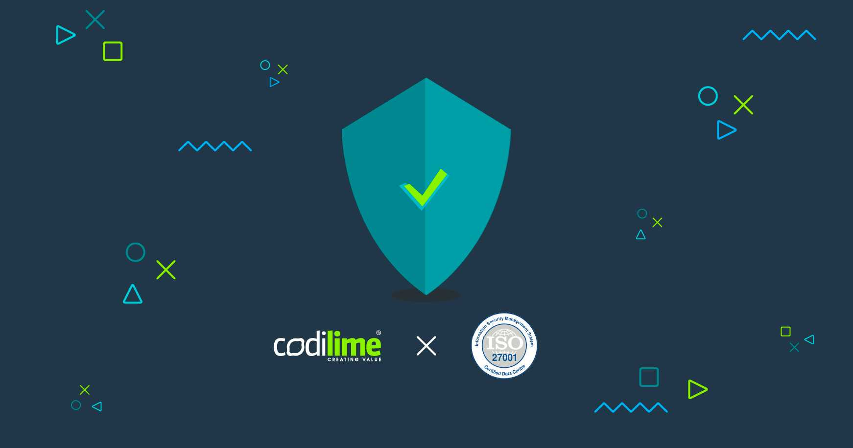 CodiLime information security standards certified with ISO 27001