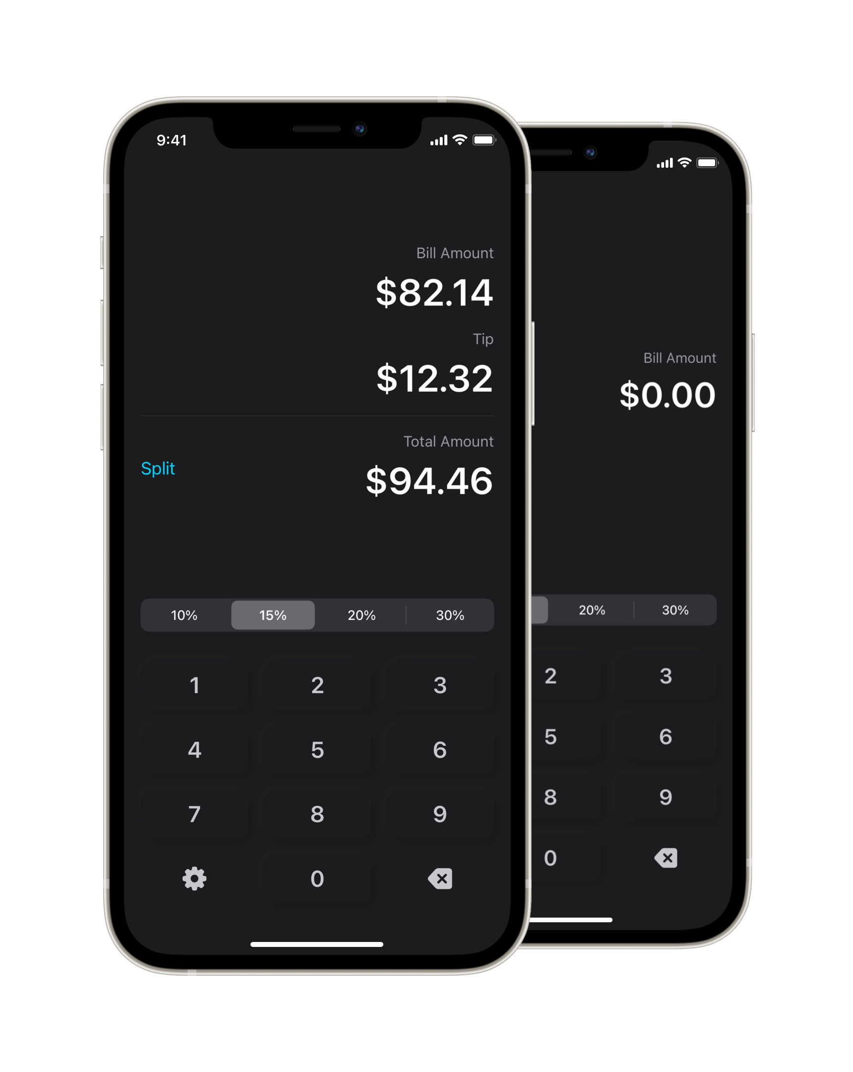 Tip App - Calculate the Tip