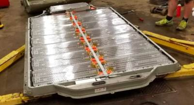 Used Tesla battery cells