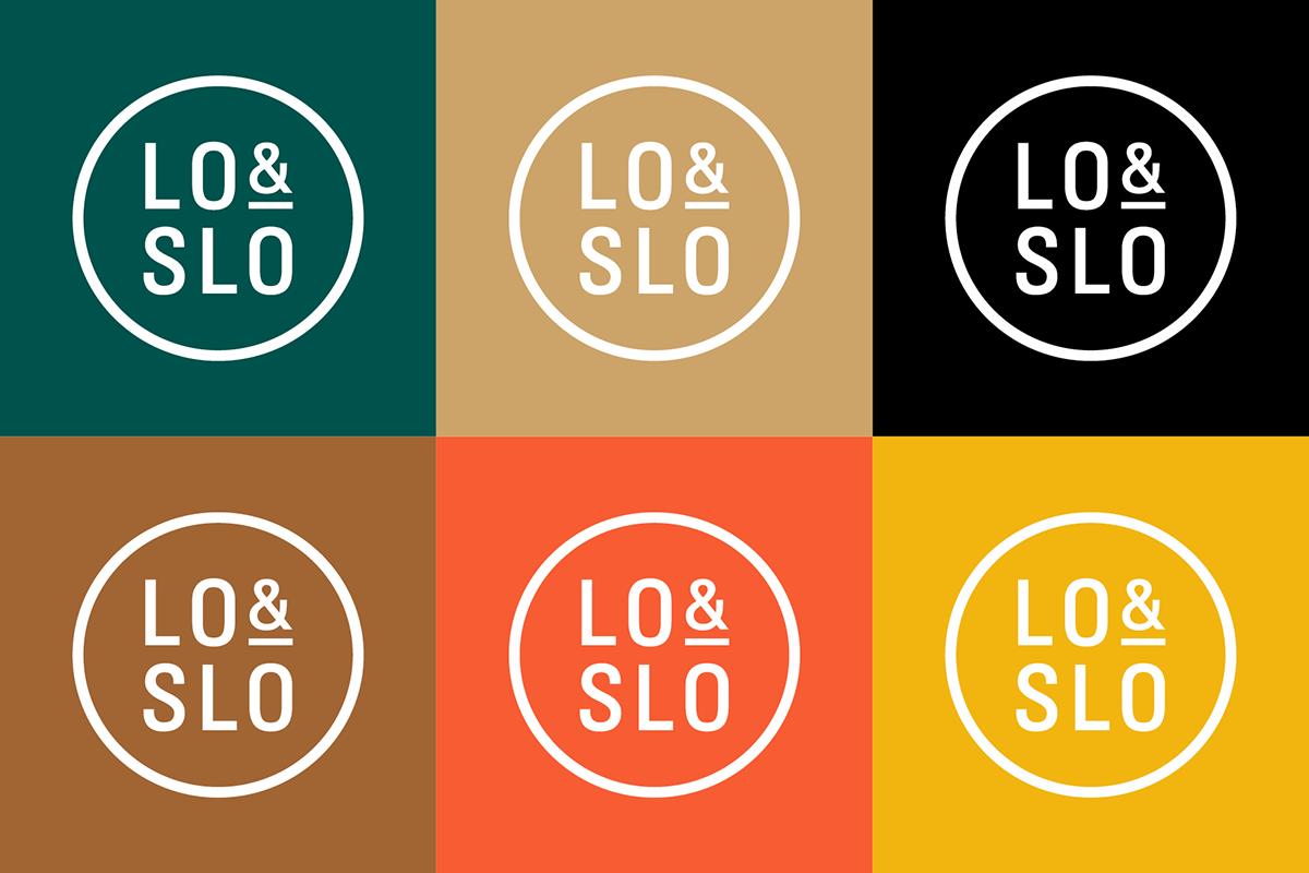 Lo & Slo branding visual