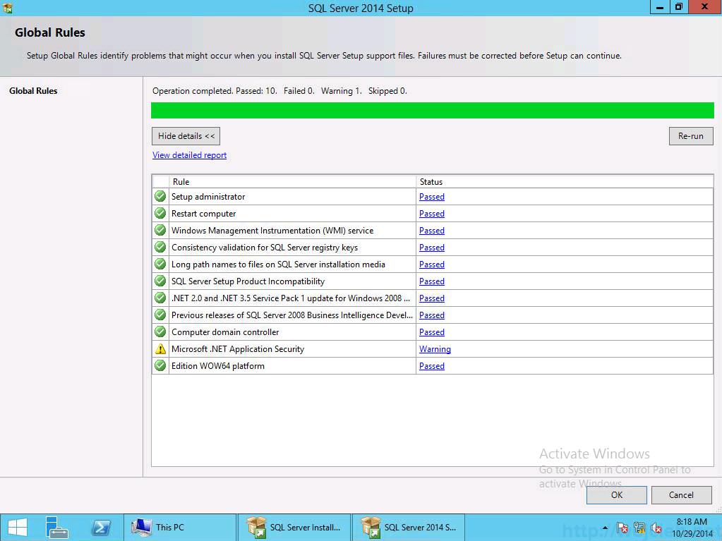 vCenter 5.5 on Windows Server 2012 R2 with SQL Server 2014 - 2