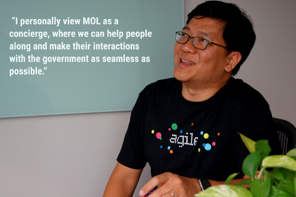Mr Dominic Chan, director, MOL, at GovTech, shares his thoughts about MOL's future direction and potential