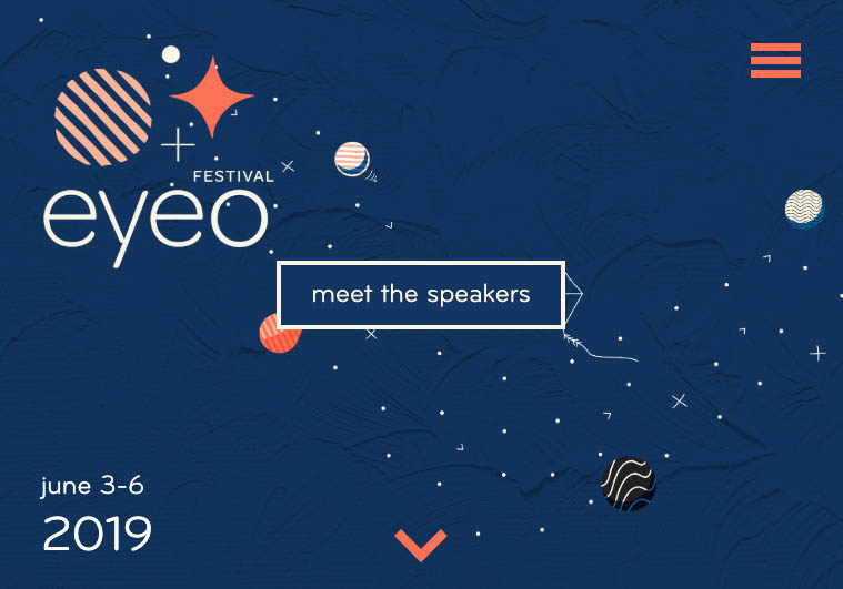 EYEO Festival website screenshot