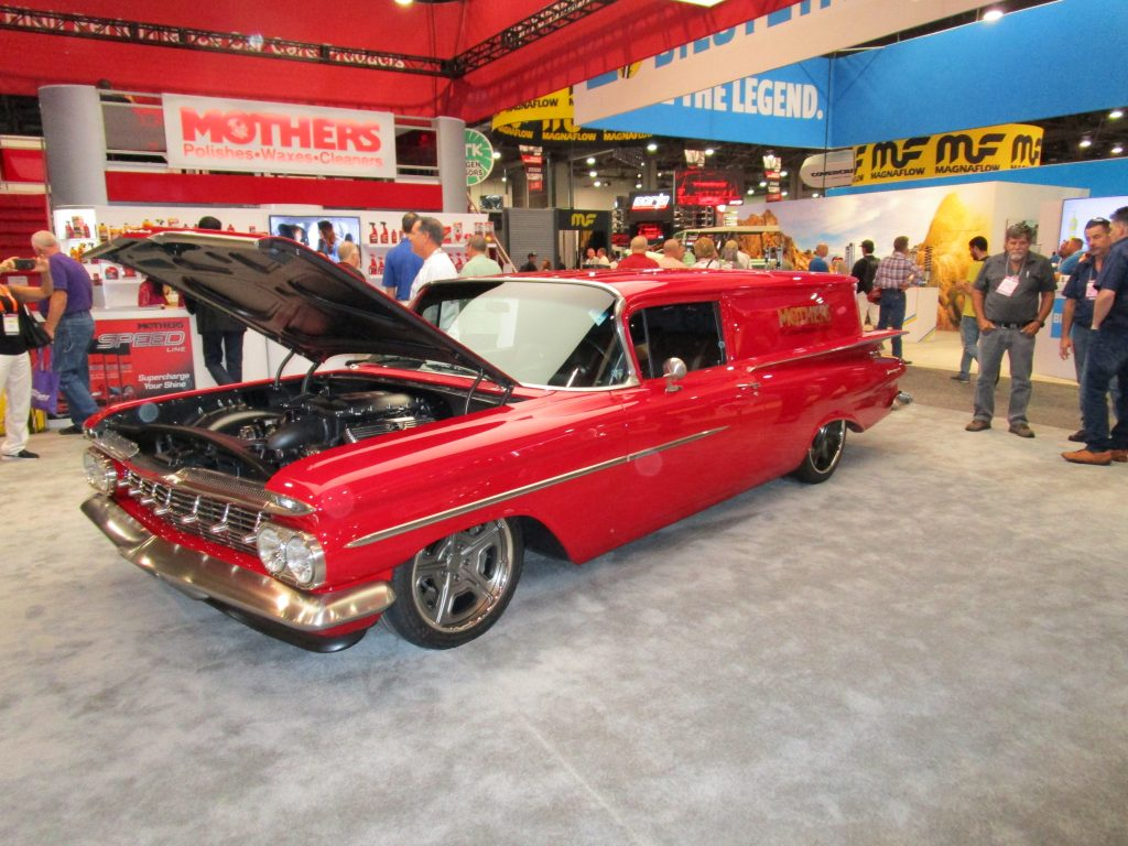 Red Classic Car Hearse