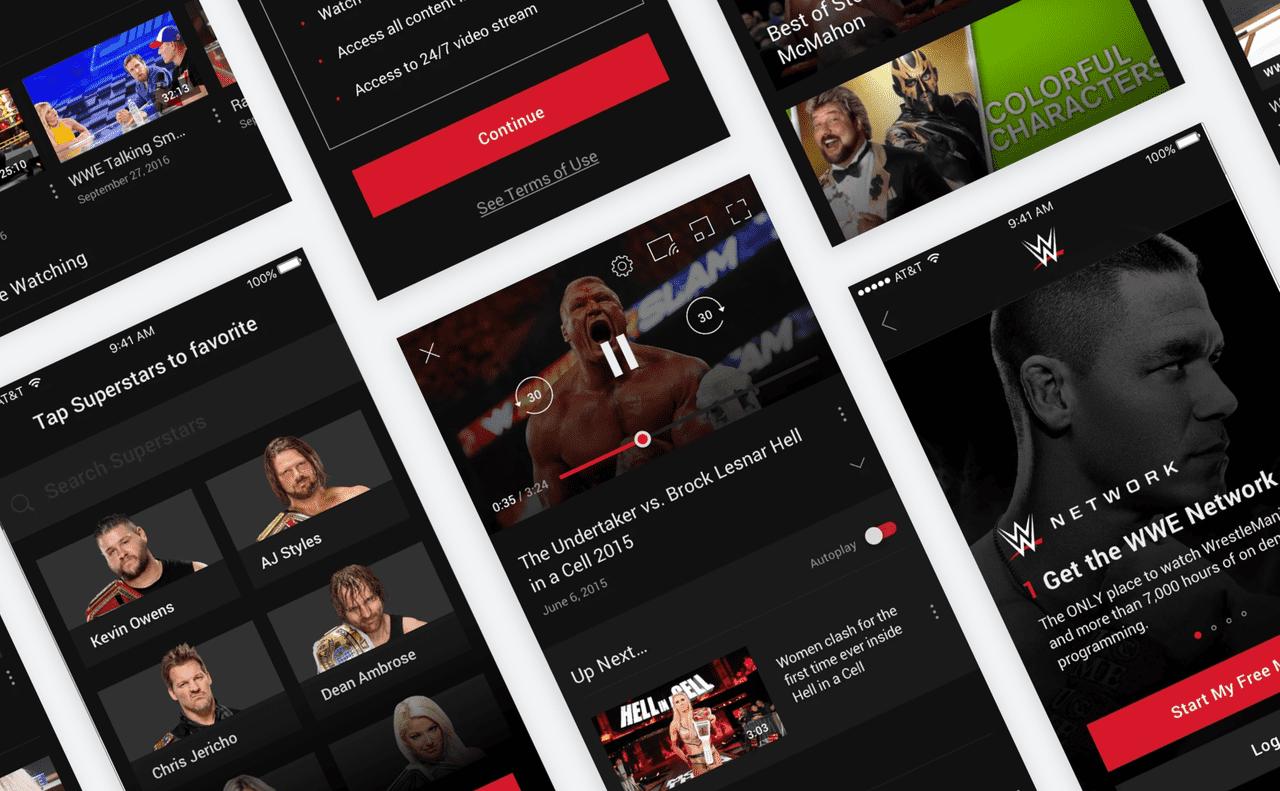 WWE Mobile Showcase 1