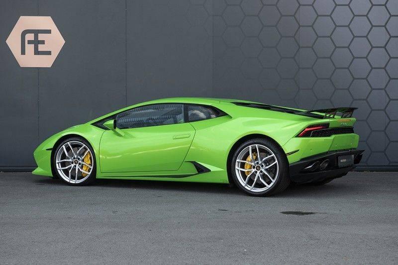 Lamborghini Huracan 5.2 V10 LP610-4 Blue Eye + Carbon Spoiler + LIFTING + Achteruitrijcamera afbeelding 2