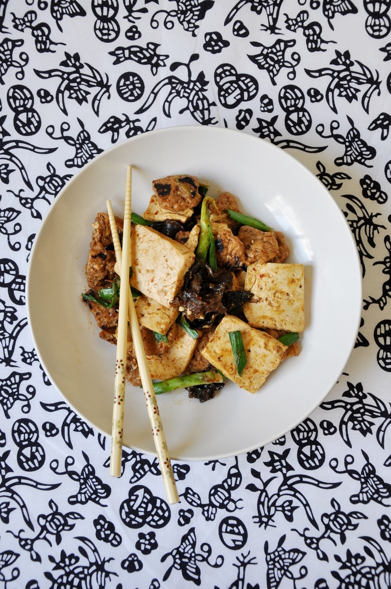 Tofu Soy Protein Stew