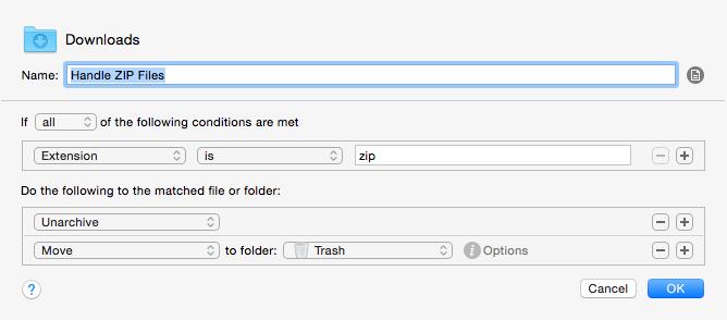 Handle ZIP Files