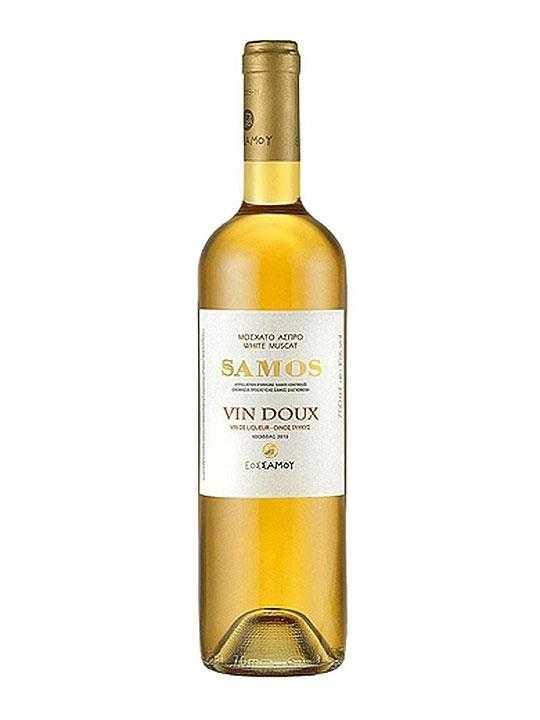 White sweet Doux Samos - 0.75l