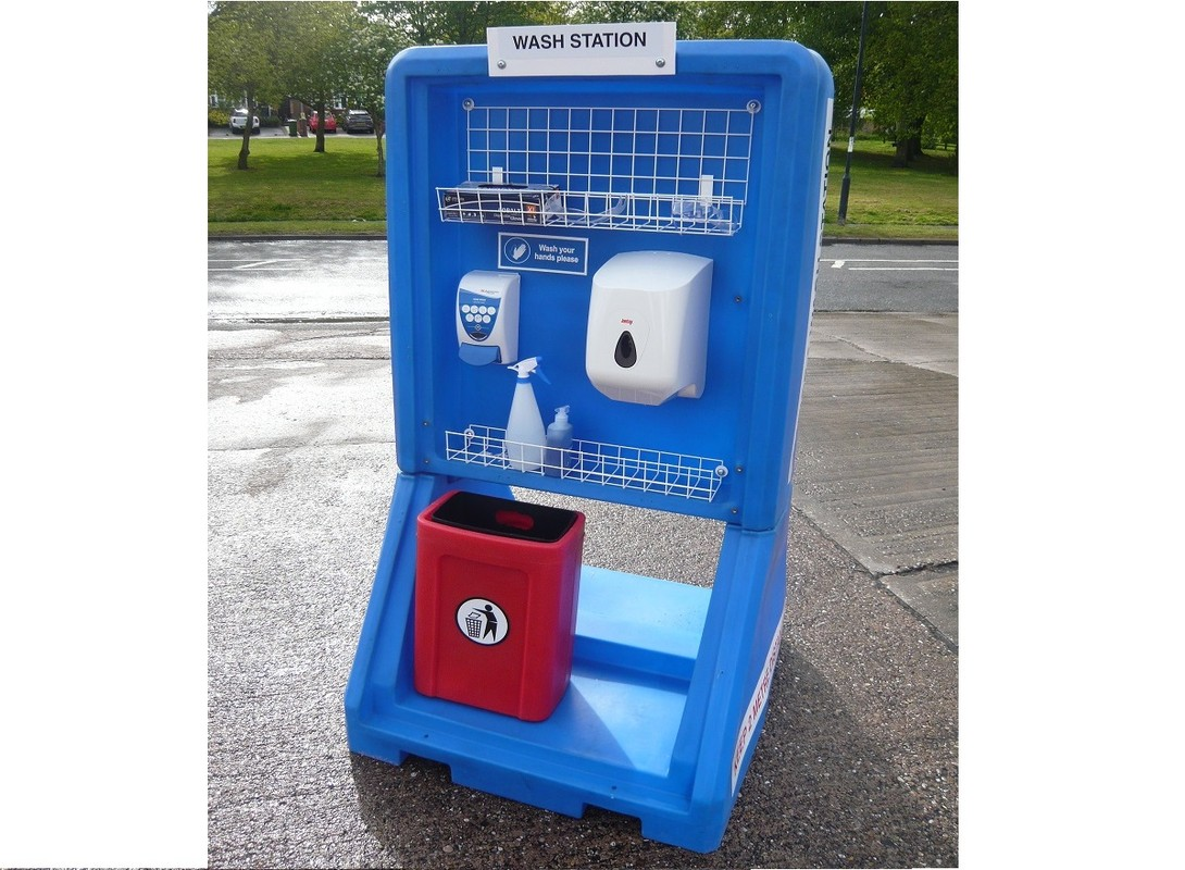 Covid-19 Hand Wash Station - Front
